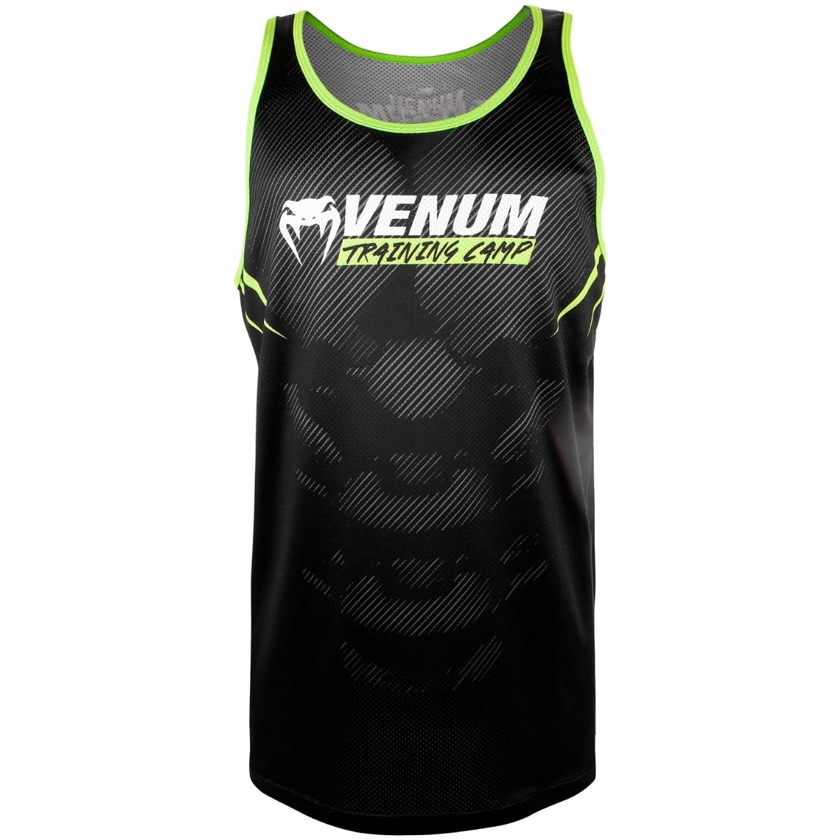 77f68953e109f Venum Venum Training Camp 2.0 Tank Top - Black Neo Yellow VE-03592-116-S