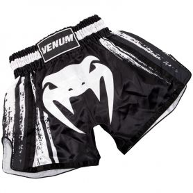 VE-03365-001-L-Venum Bangkok Spirit Muay Thai Short - Black