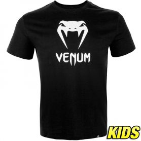 VE-03558-001-10-Venum Classic T-shirt - Kids - Black