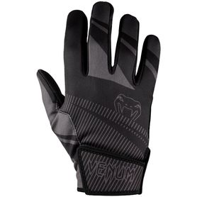 VE-03109-109-SM-Venum Runner Gloves - Black/Grey