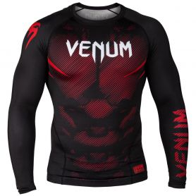 VE-03595-001-L-Venum NoGi 2.0 Rashguard - Long Sleeves - Black