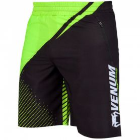 VE-03573-116-M-Venum Training Camp 2.0 Training Shorts - Black/Neo Yellow