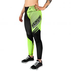 VE-03581-116-M-Venum Training Camp 2.0 Leggings - Black/Neo Yellow - For Women