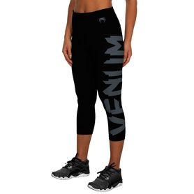 VE-02714-109-S-Venum Giant Leggings Crops - Black/Grey - For Women