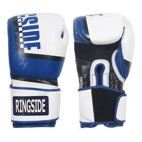 RSRP5 WH/BL 16OZ-Ringside Omega Sparring Gloves