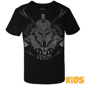 VE-03620-114-10-Venum Gladiator Kids T-shirt - Black/Black