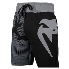 VE-02601-109-XL-Venum  Assault  Cotton Shorts - Black/Grey