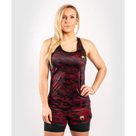 VE-03825-100-L-Venum Defender Tank Top  - Black/Red