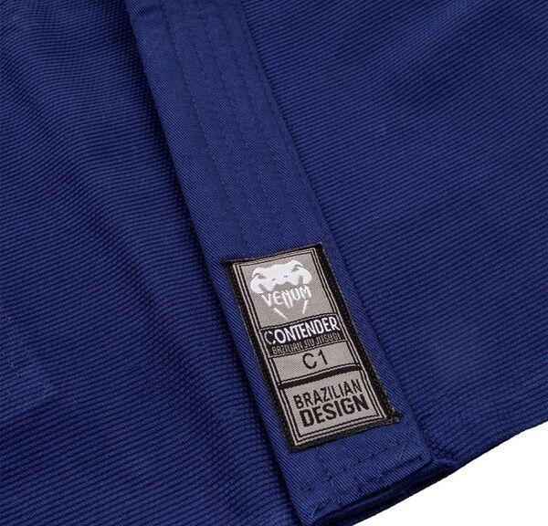 VE-03344-018-C3-Venum Contender Kids BJJ Gi (Free white belt included) - Navy blue
