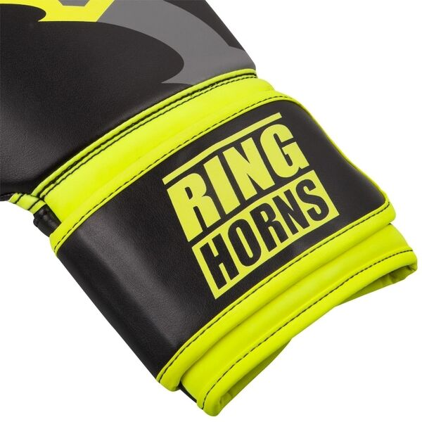 RH-00001-116-14-Charger Boxing Gloves Black/Neo Yellow